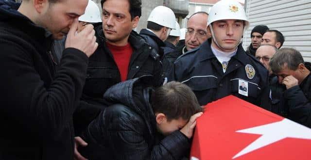 Beşiktaş saldırısı şehitleri son yolculuğuna uğurlanıyor