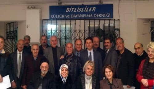 Beşminare Düşünce Akademisinden Antalya Bitlisliler Derneğine ziyaret