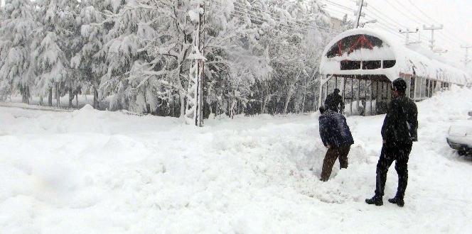 Bitlis'te 235 köy yolu ulaşıma kapandı
