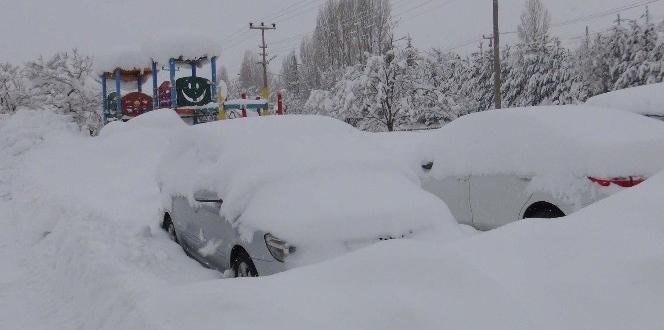 Bitlis'te 342 köy yolu ulaşıma kapandı