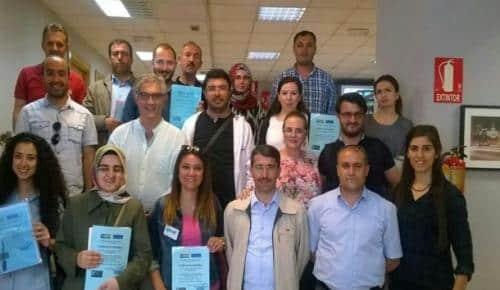 Bitlis'teki öğretmenler Avrupa'da eğitim programına katıldı