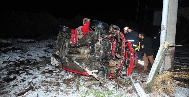 Bursa'da feci kaza: 2'si kardeş 3 ölü