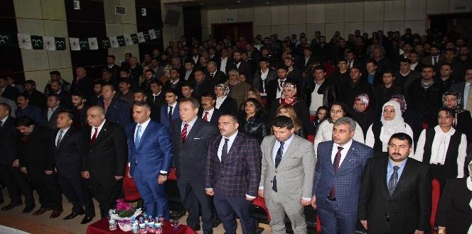 Kadir Canpolat Bitlis Osmanlı Ocakları İl Başkanlığı açılışında