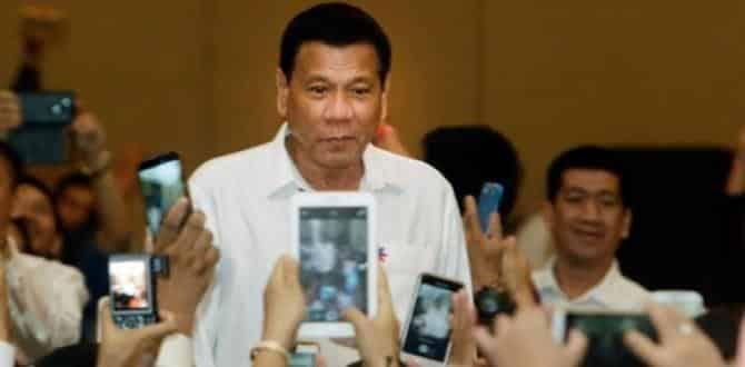 Filipinler lideri Duterte: Bizzat öldürdüm