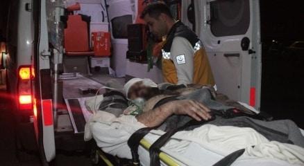 Halep'te yaralanan siviller Türkiye'de tedavi altına alınıyor haberi
