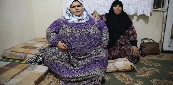 Halepli kız tedavi olamayınca 350 kiloya çıktı