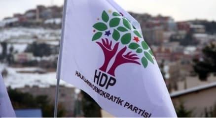 HDP Saruhanlı ilçe binasında arama haberi