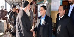 Hizan Kaymakamından esnaf ziyareti