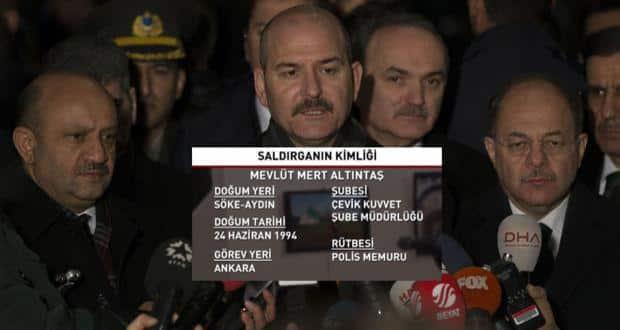 İçişleri Bakanı Soylu, Rus Elçi'ye saldıranın kimliğini açıkladı