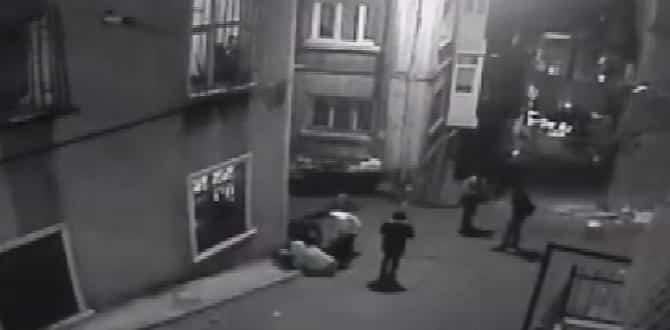 İstanbul Beyoğlu'ndaki çatışma kamerada