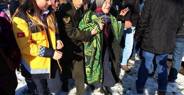 Kayseri şehidi Kenan Döngel için Zonguldak Ereğli'de cenaze töreni