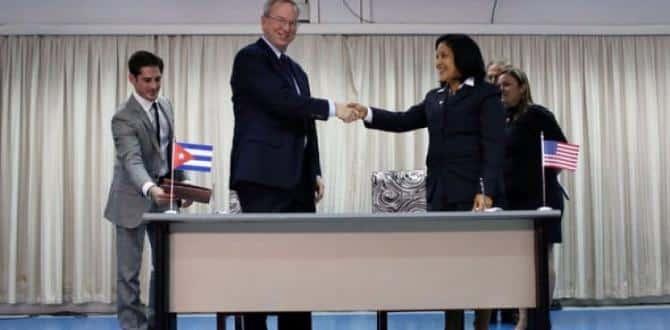 Küba Google ile anlaştı