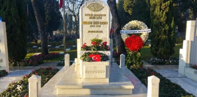 Mehmet Akif Ersoy, mezarı başında anıldı