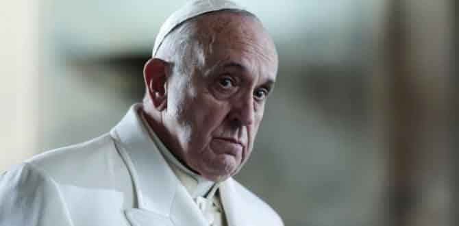 Papa'dan Türk halkına başsağlığı