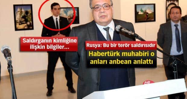 Rusya'nın Ankara Büyükelçisi Andrey Karlov'a silahlı saldırı