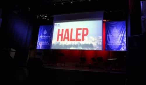 Şehitler ve Halep için Kur'an-ı Kerim tilaveti