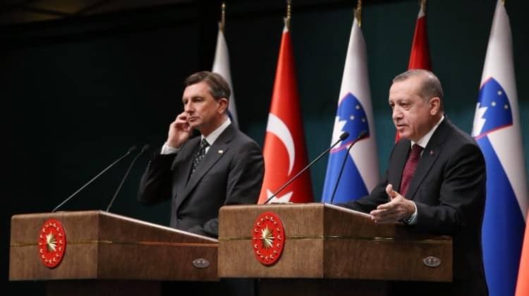 Slovenyalı gazetecinin Erdoğan'a sorduğu tek soru