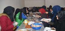 Tatvan'da Halepliler yararına yardım kermesi
