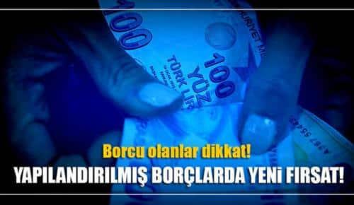 Yapılandırılan borcunu peşin ödeyeceklere yeni fırsat