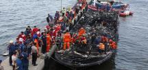 Yolcu taşıyan teknede yangın çıktı: 23 ölü